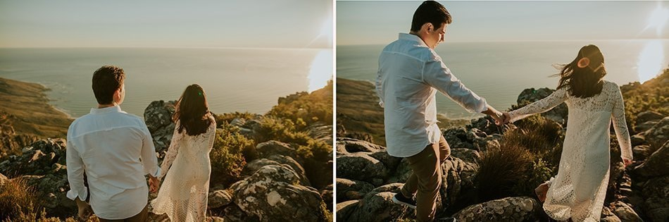 Table Mountain South Africa | wedding portraits | couple photos | Michelle & Daniel16