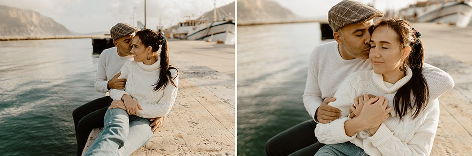 Oceanside engagement session - chapmens peak, Hout bay - Cape town engagement photos - karim & marelize (5)