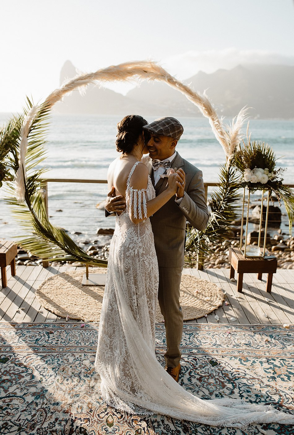 Coastal Boho Wedding | Tintswalo Atlantic Wedding | Married, Cape Town