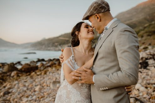 Coastal Boho wedding _ tintswalo atlantic hotel _ hout bay wedding _ married _ wedding photographers cape town (45)