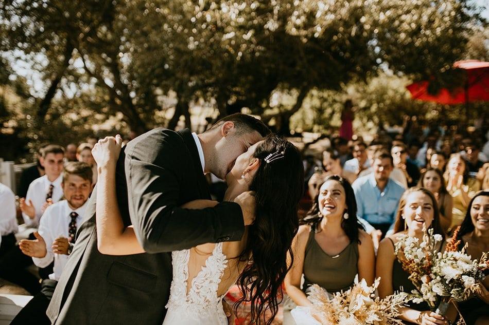 boho style wedding in cape winelands